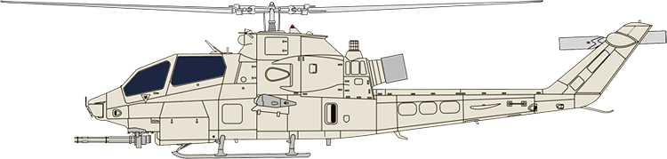 Bell Helicopter windshields and windows - BELL AH-1Z SUPER COBRA